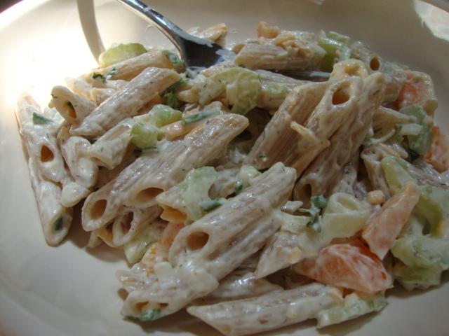 Easy Creamy Pasta Salad Epicurean Vegan
