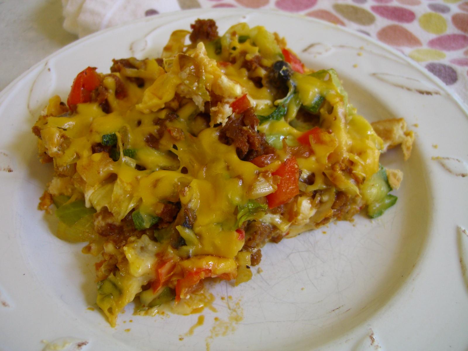 Vegan Sausage Breakfast Casserole -- Epicurean Vegan