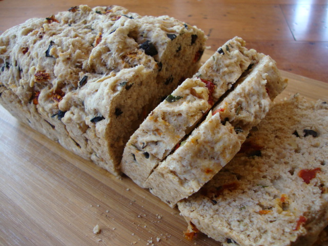 Mediterranean Olive Bread -- Epicurean Vegan