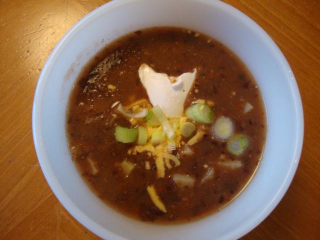 Cuban Black Bean and Potato Soup -- Epicurean Vegan