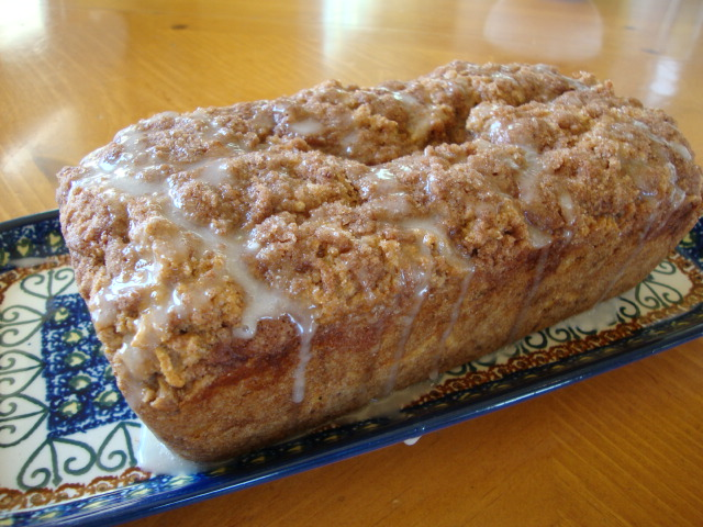 Apple Coffee Cake for Monet -- Epicurean Vegan