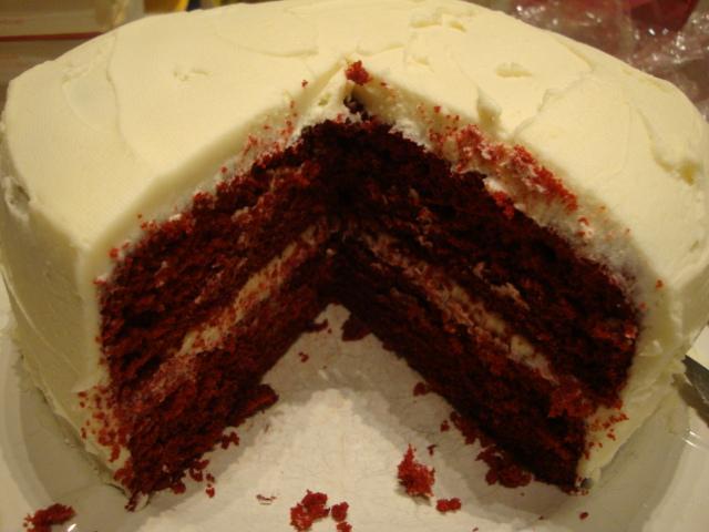 Vegan And Gluten Free Red Velvet Cake