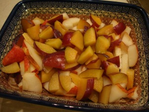 Plum n' Pear Cobbler -- Epicurean Vegan