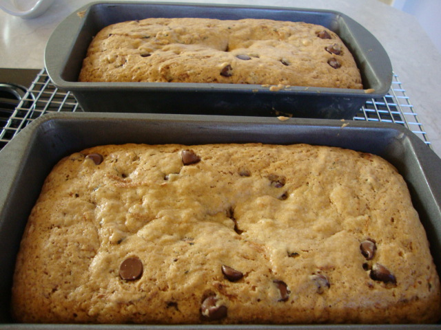 Chocolate Chip Zucchini Bread -- Epicurean Vegan