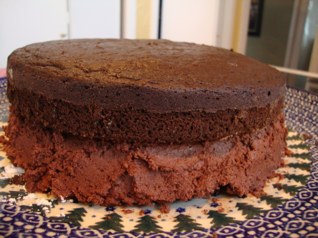 Vegan Chocolate Layer Cake -- Epicurean Vegan