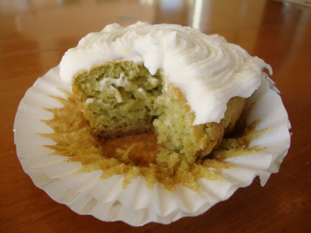 Avocado Cupcakes -- Epicurean Vegan