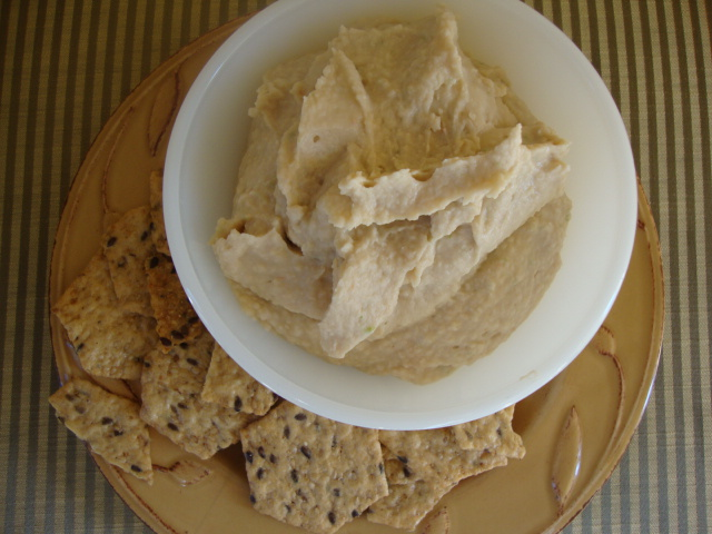 White Bean Truffle Spread -- Epicurean Vegan