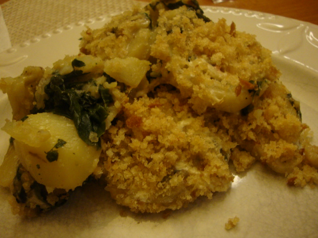 Potato and Chard Casserole -- Epicurean Vegan