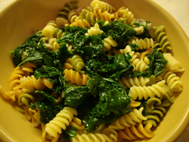 Pasta with Kale -- Epicurean Vegan