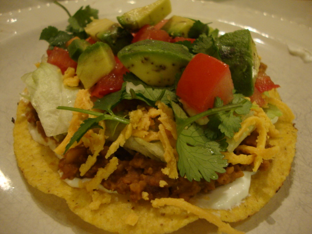Easy Tostadas -- Epicurean Vegan