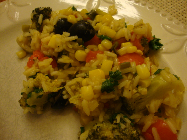 Paella Primavera -- Epicurean Vegan