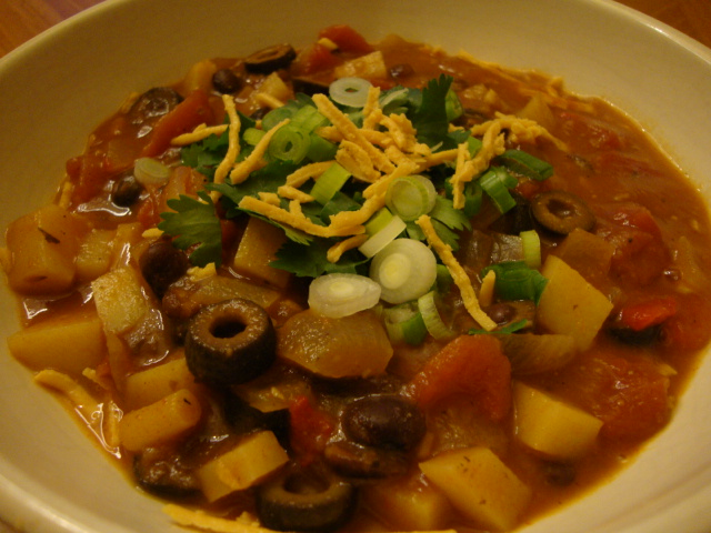Chili Stew -- Epicurean Vegan