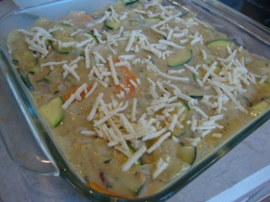 Vegan Scalloped Yams and Zucchini -- Epicurean Vegan