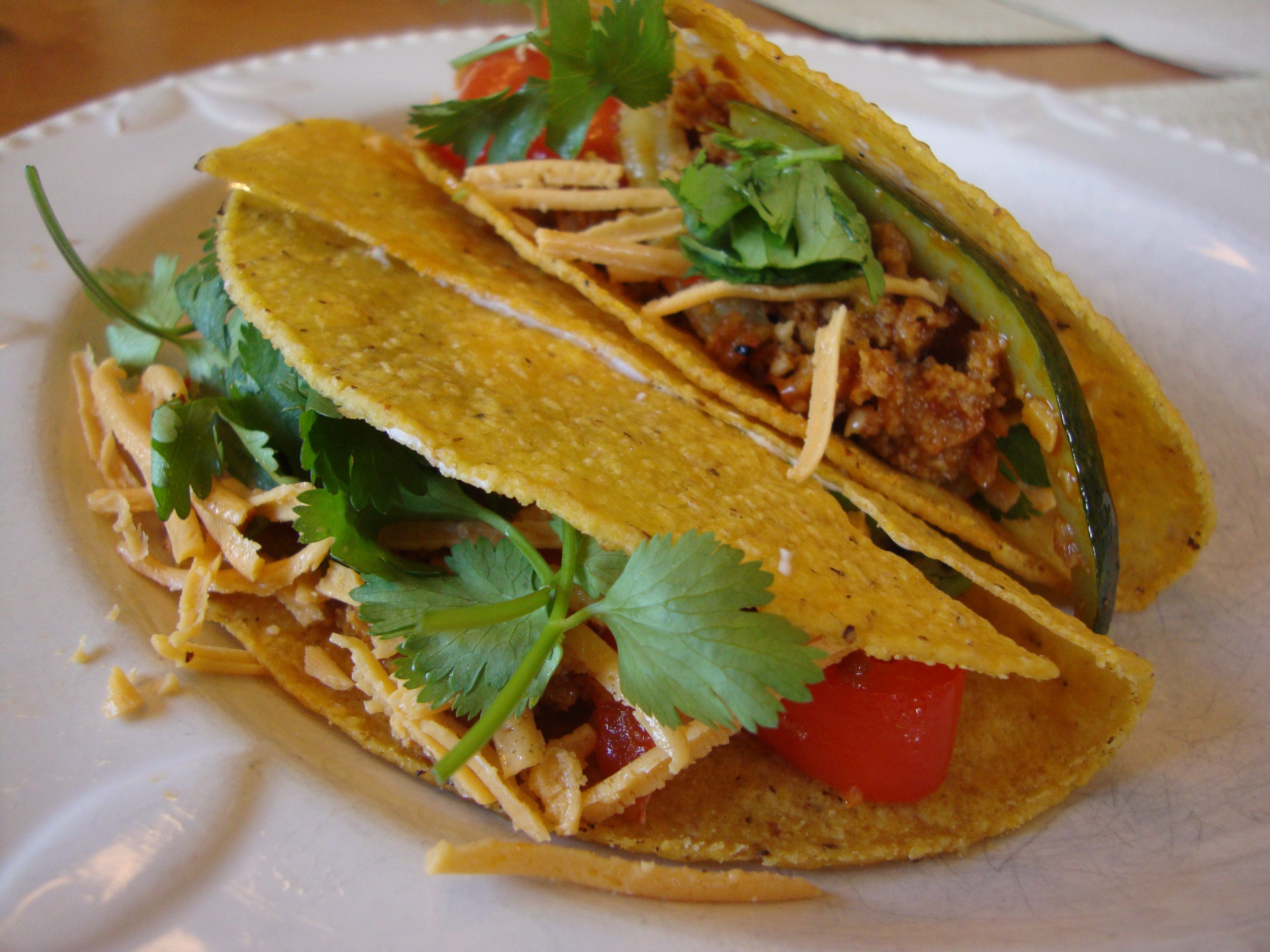 Field Roast and Veggie Tacos -- Epicurean Vegan