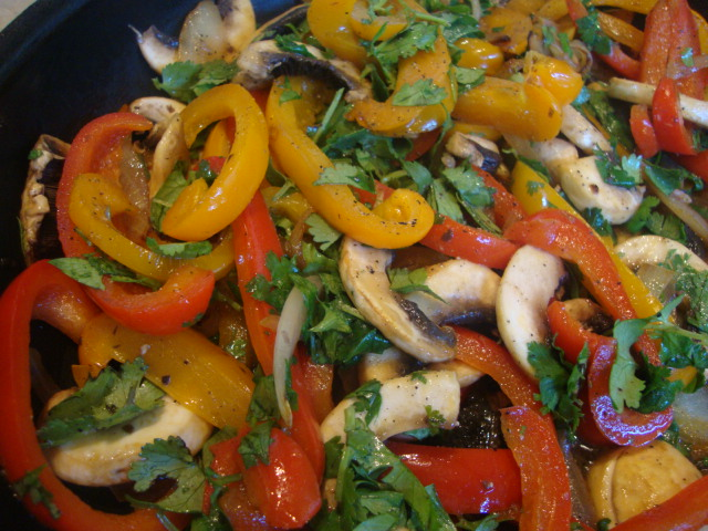 Lime and Veggie Fajitas -- Epicurean Vegan