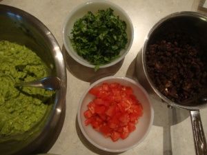 Guac & Bean Tacos -- Epicurean Vegan