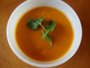 Carrot-Ginger Soup -- Epicurean Vegan
