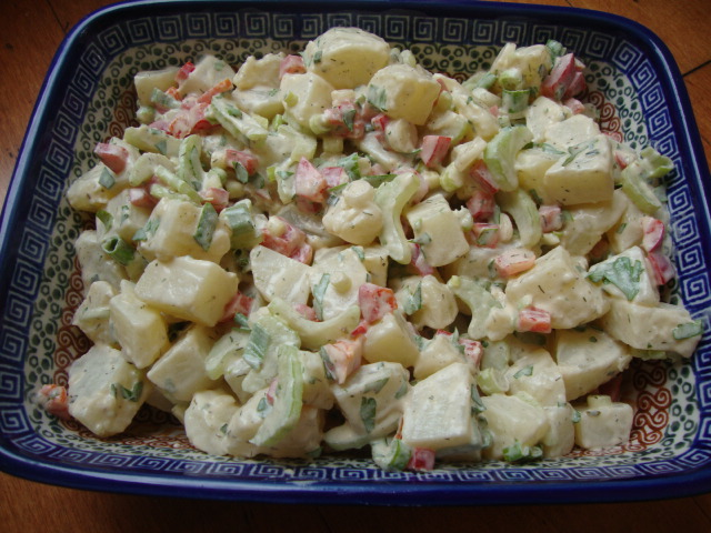Vegan Potato Salad -- Epicurean Vegan