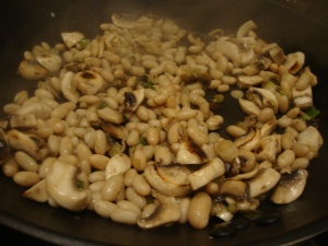 Quinoa and Rice Stir-fry with Cashews & White Beans -- Epicurean Vegan