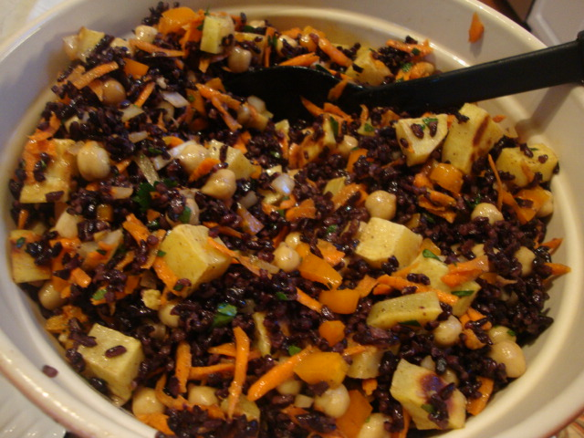 Black Rice Salad -- Epicurean Vegan