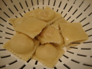 Vegan Sweet Potato and Ricotta Ravioli with a Butter-Garlic Cream Sauce -- Epicurean Vegan