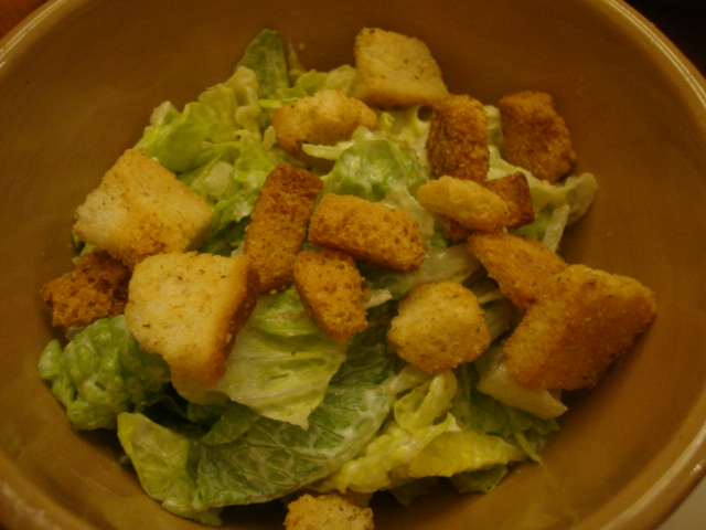 Vegan Caesar Salad -- Epicurean Vegan