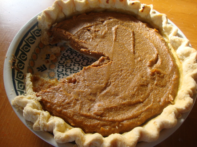 Vegan Pumpkin Pie -- Epicurean Vegan