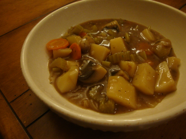 Hearty Vegetable Stew -- Epicurean Vegan