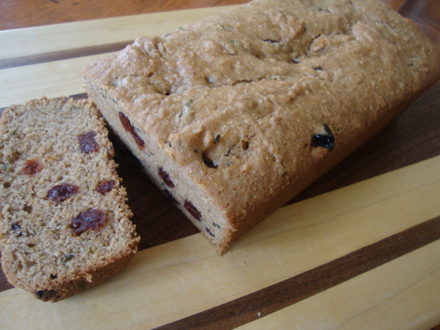 Cherry Zucchini Bread -- Epicurean Vegan