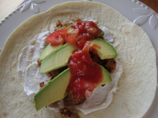 Field Roast and Avocado Burritos -- Epicurean Vegan