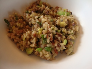 Avocado-Lime Rice -- Epicurean Vegan
