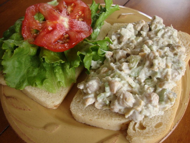 Mock Tuna Salad -- Epicurean Vegan
