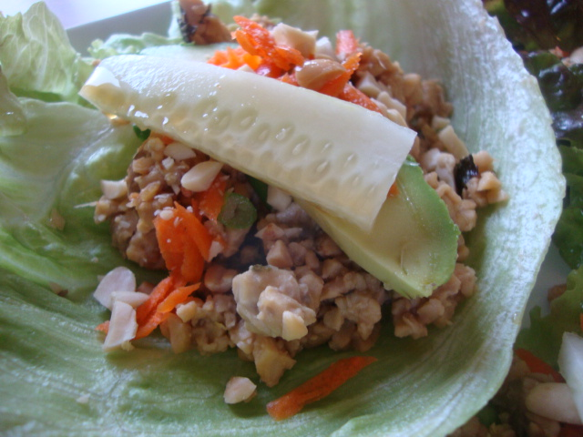 Tempeh Lettuce Wraps -- Epicurean Vegan