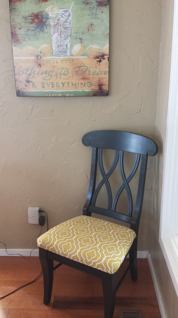 Upcycling Dining Room Chairs -- Epicurean Vegan