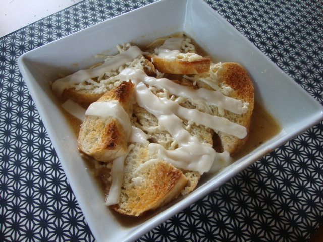 Vegan French Onion Soup -- Epicurean Vegan