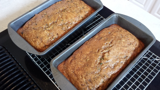 Sugar-Glazed Zucchini Bread -- Epicurean Vegan