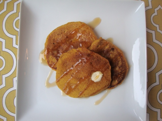 Pumpkin-Spiced Pancakes -- Epicurean Vegan