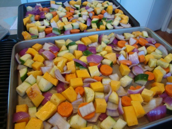 Roasting Vegetables - Epicurean Vegan