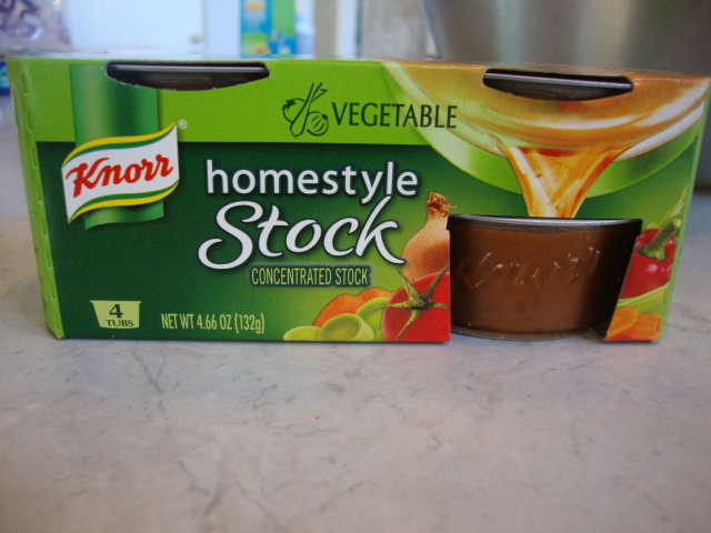 Knorr Homestyle Vegetable Stock, Gnocchi with Roasted Vegetables -- Epicurean Vegan