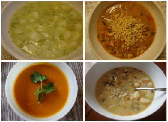 Vegan Thanksgiving Soup Recipes -- Epicurean Vegan