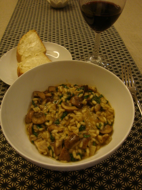 Creamy Wild Mushroom Risotto -- Epicurean Vegan