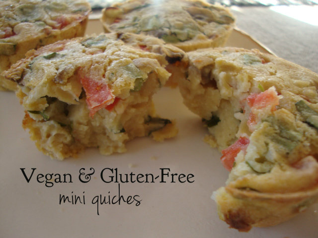 Vegan and Gluten-Free Mini Quiches -- Epicurean Vegan